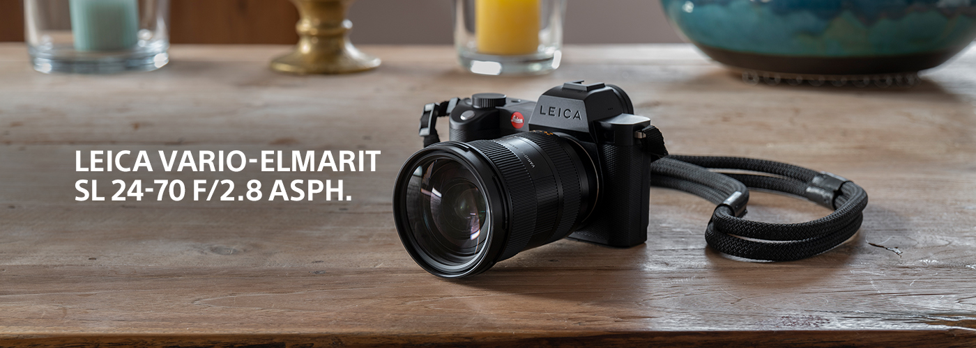 Leica Vario-Elmarit 24-70 f/2.8 ASPH. and SL Camera Bundles