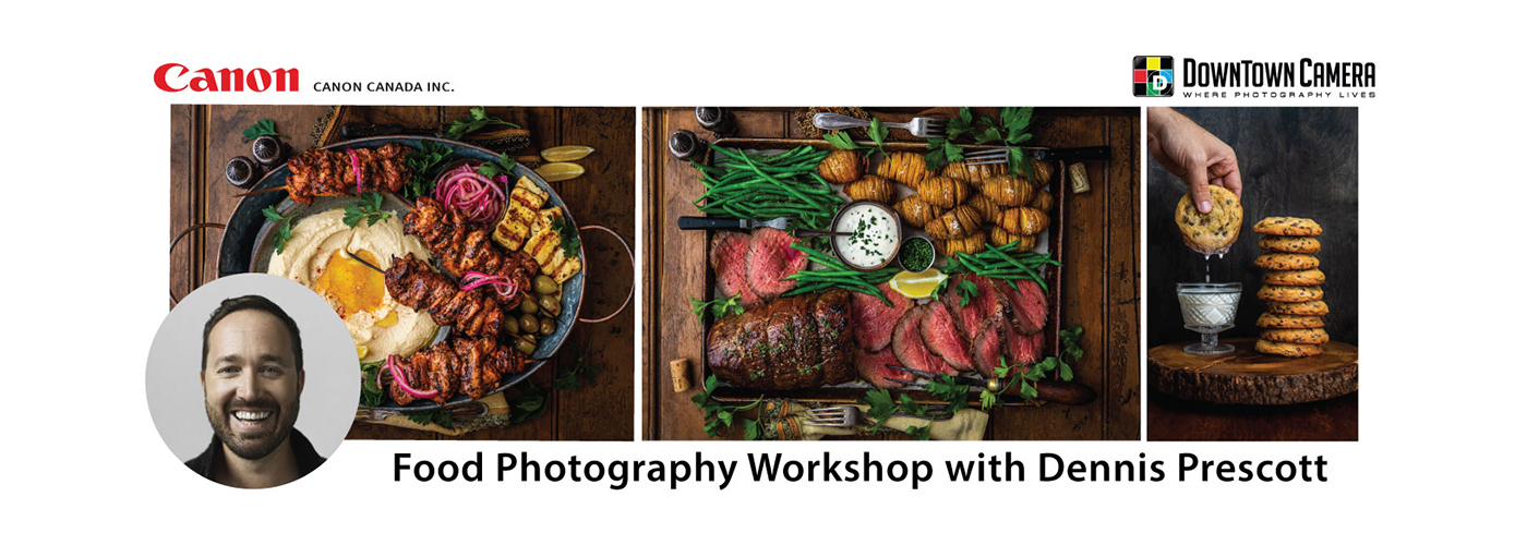 Food Photography with Dennis Prescott