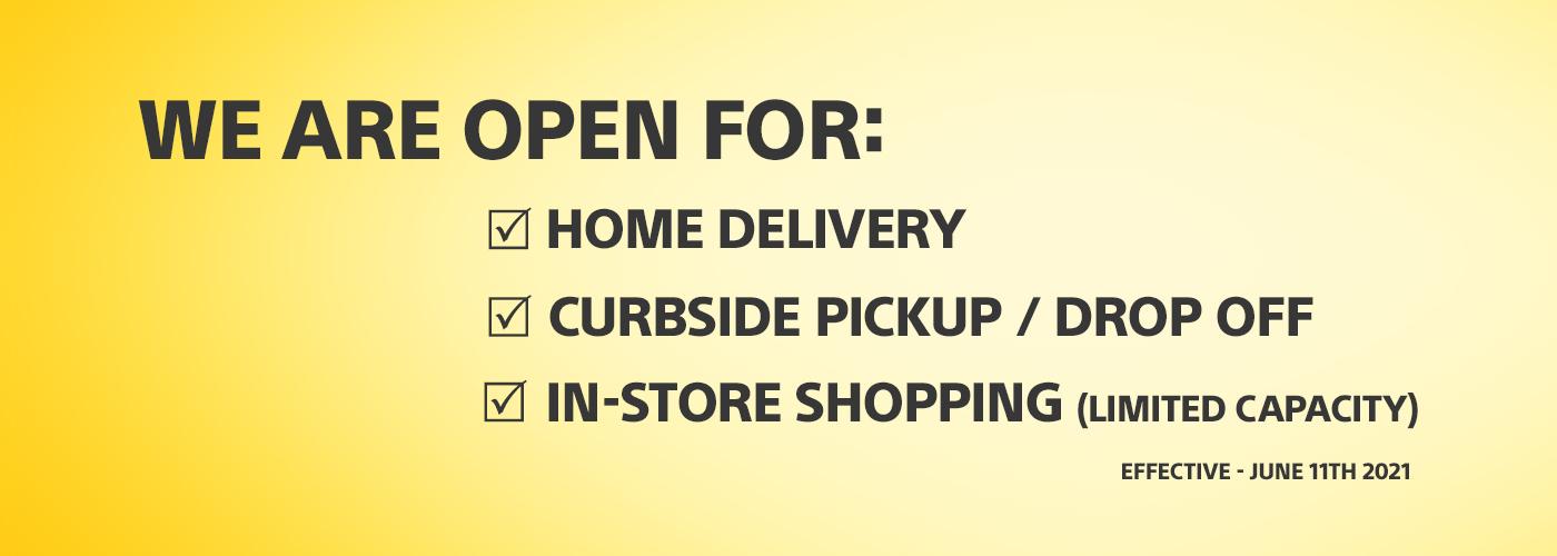 COVID 19 Store Announcement
