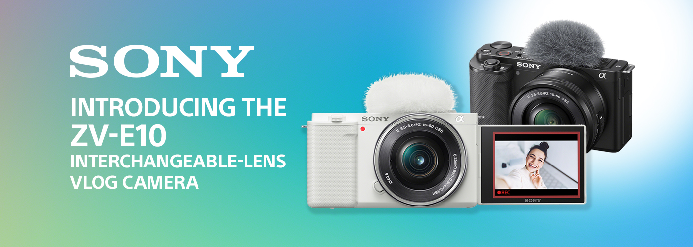 Sony Alpha ZV-E10 - APS-C Interchangeable Lens Mirrorless Vlog Camera