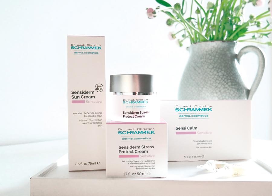Beruhigende Pflege für sensible Haut