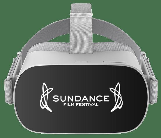 Custom branded VR headset