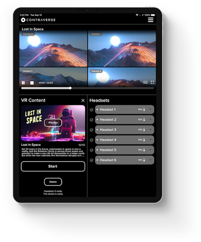 Contraverse Cinema Remote App