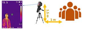 Vision thermique distance