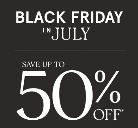 Black friday in july 50% off