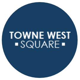 Towne West Square logo with link to mall homepage