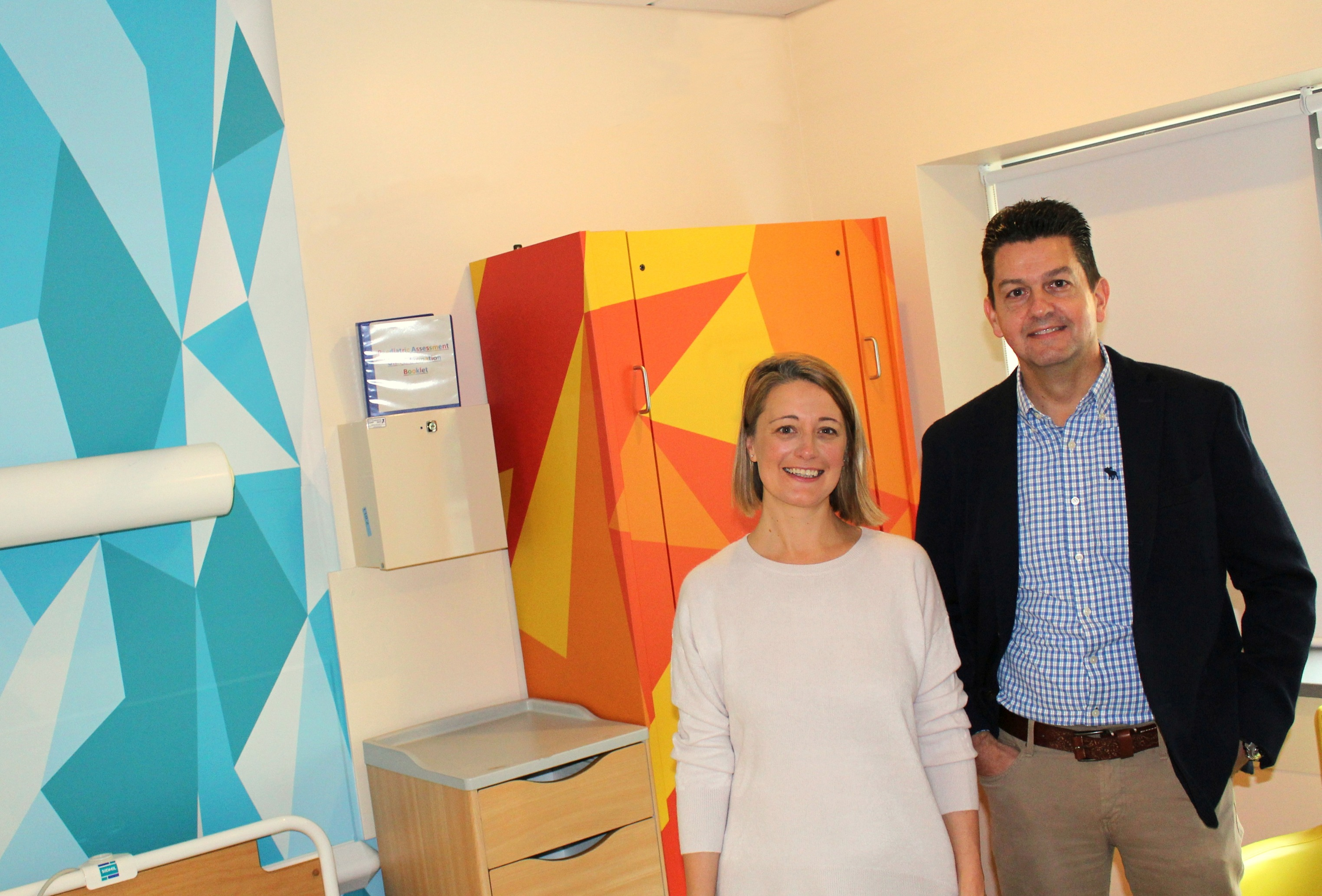 Rooms Transformed at Children's Hospital