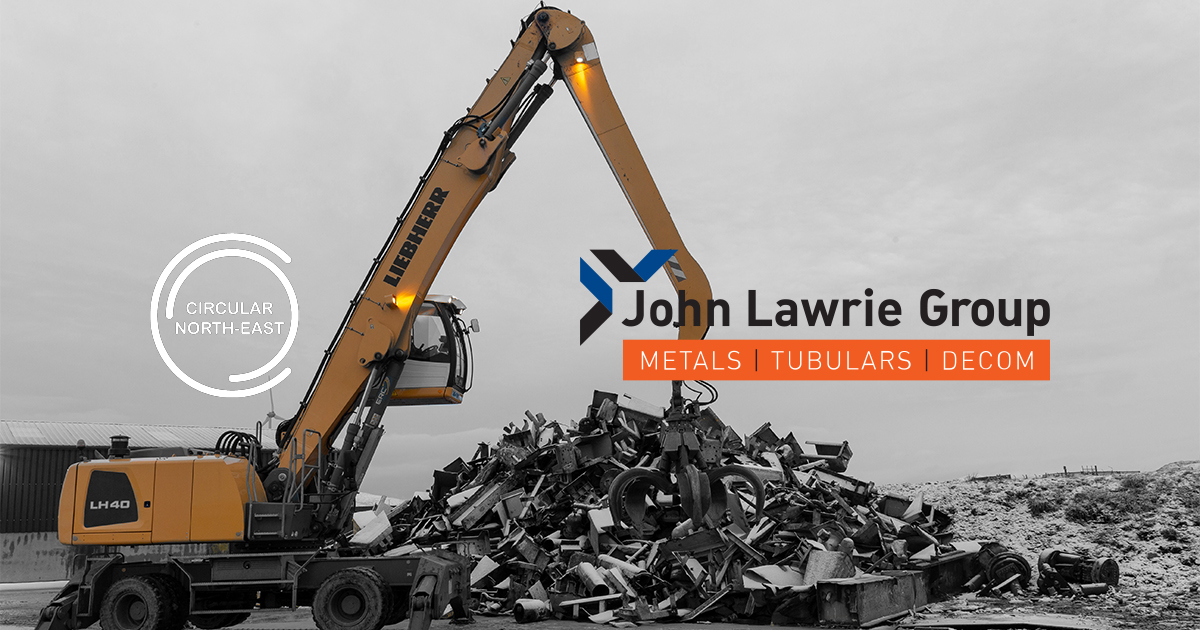John Lawrie Group to Represent Circular Economy in North East