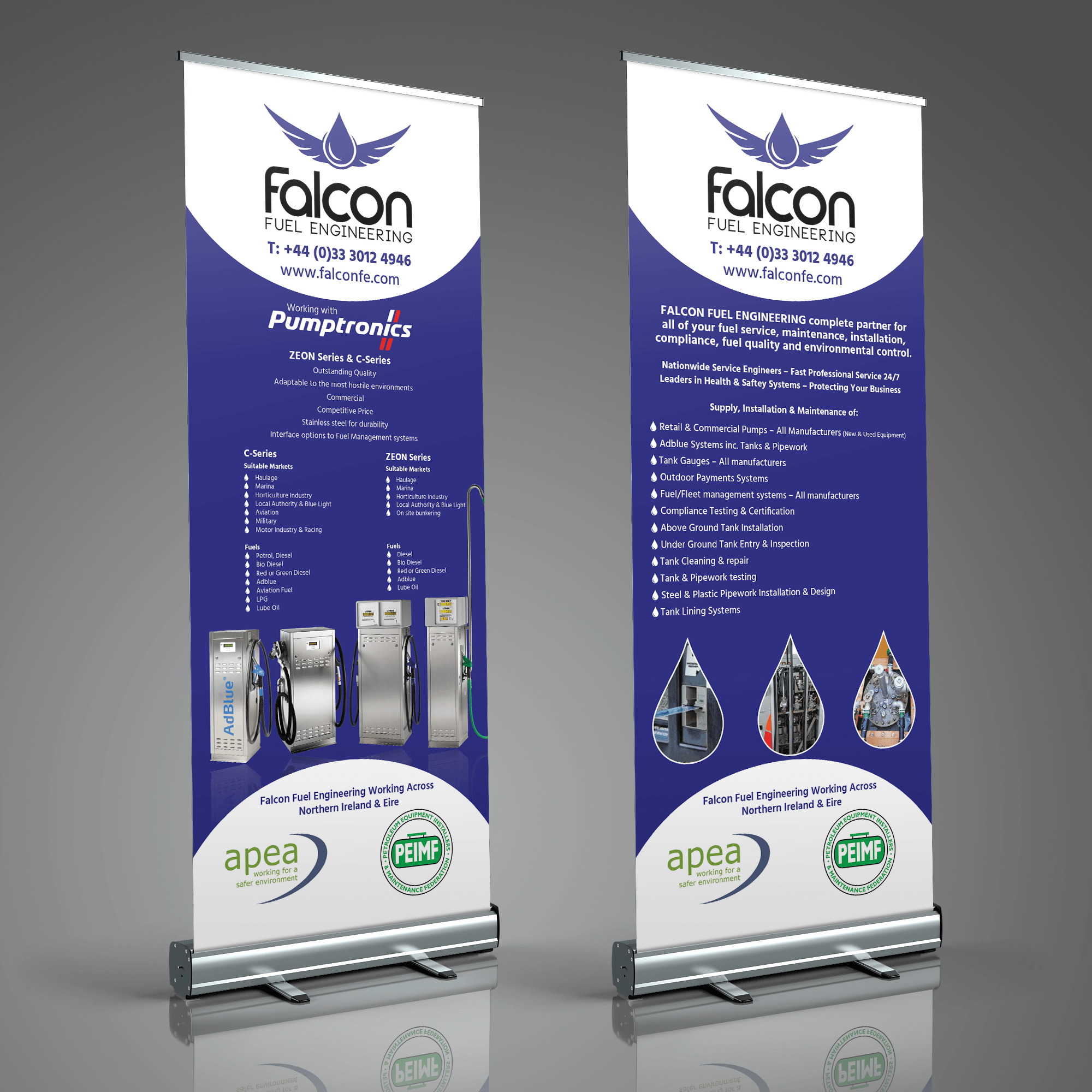 FFE Roll up banner design