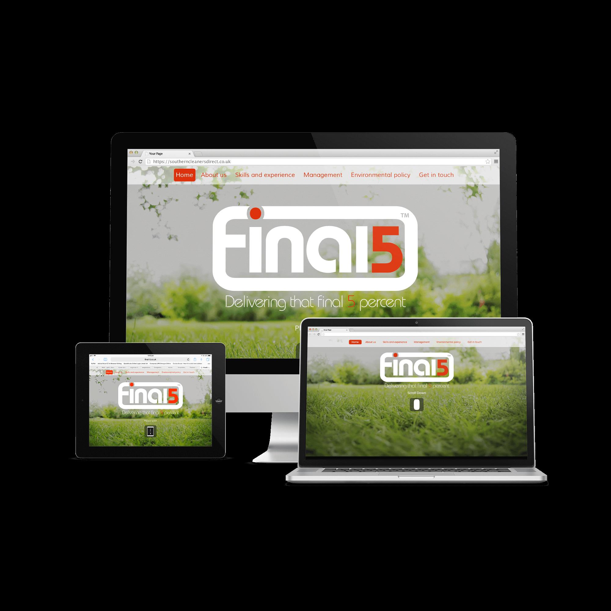 Final 5 Website