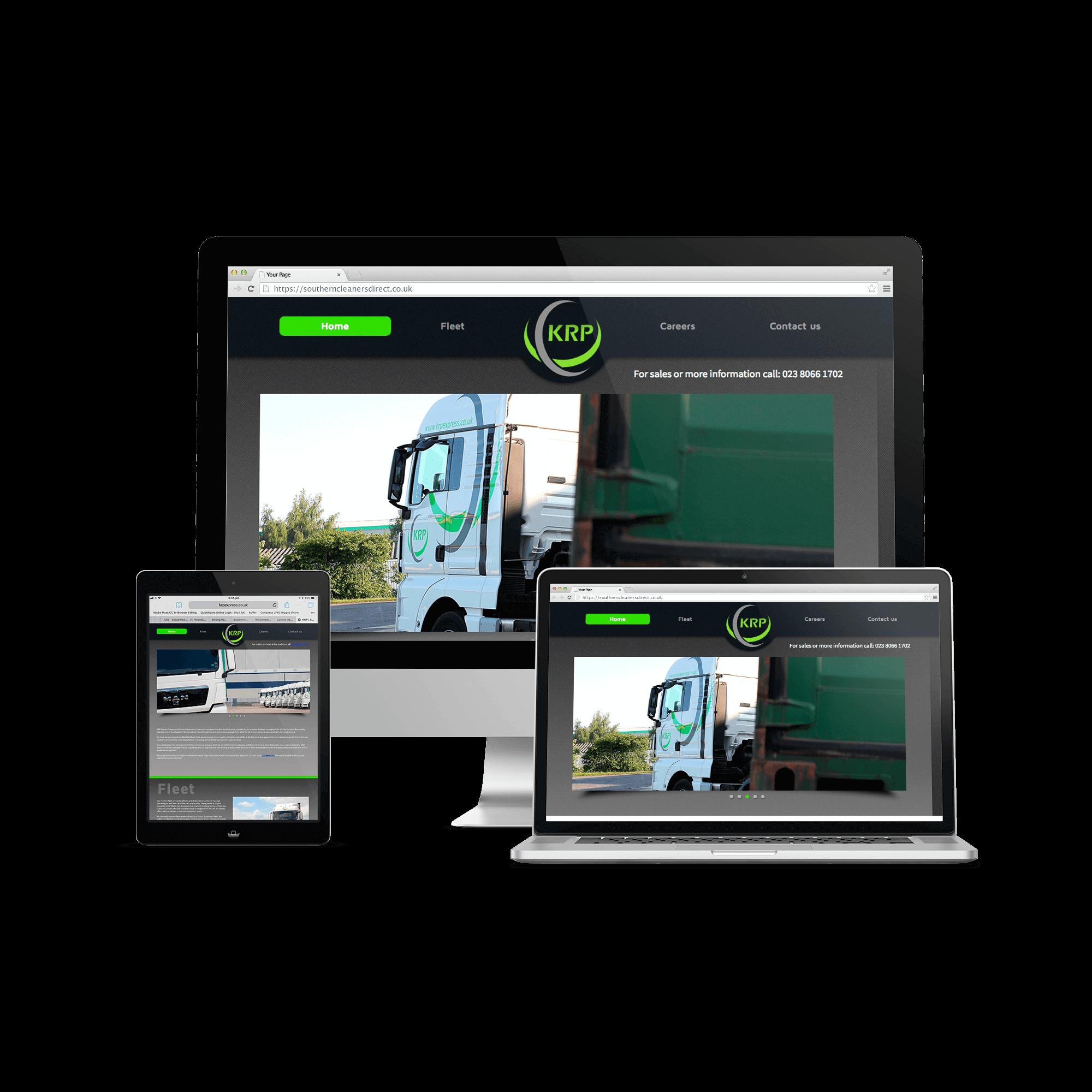 KRP Express Transport Website
