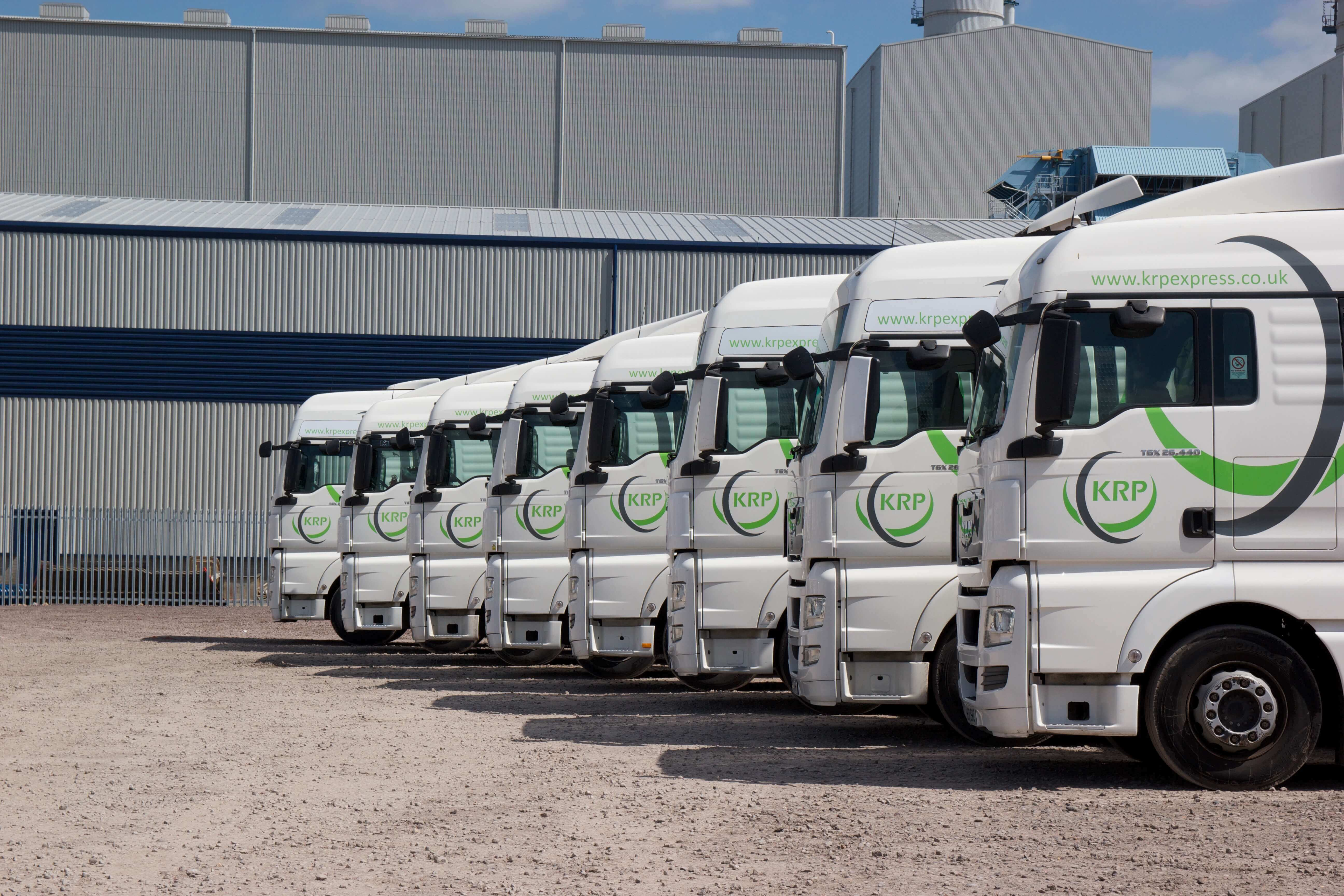 KRP Express Transport Trucks