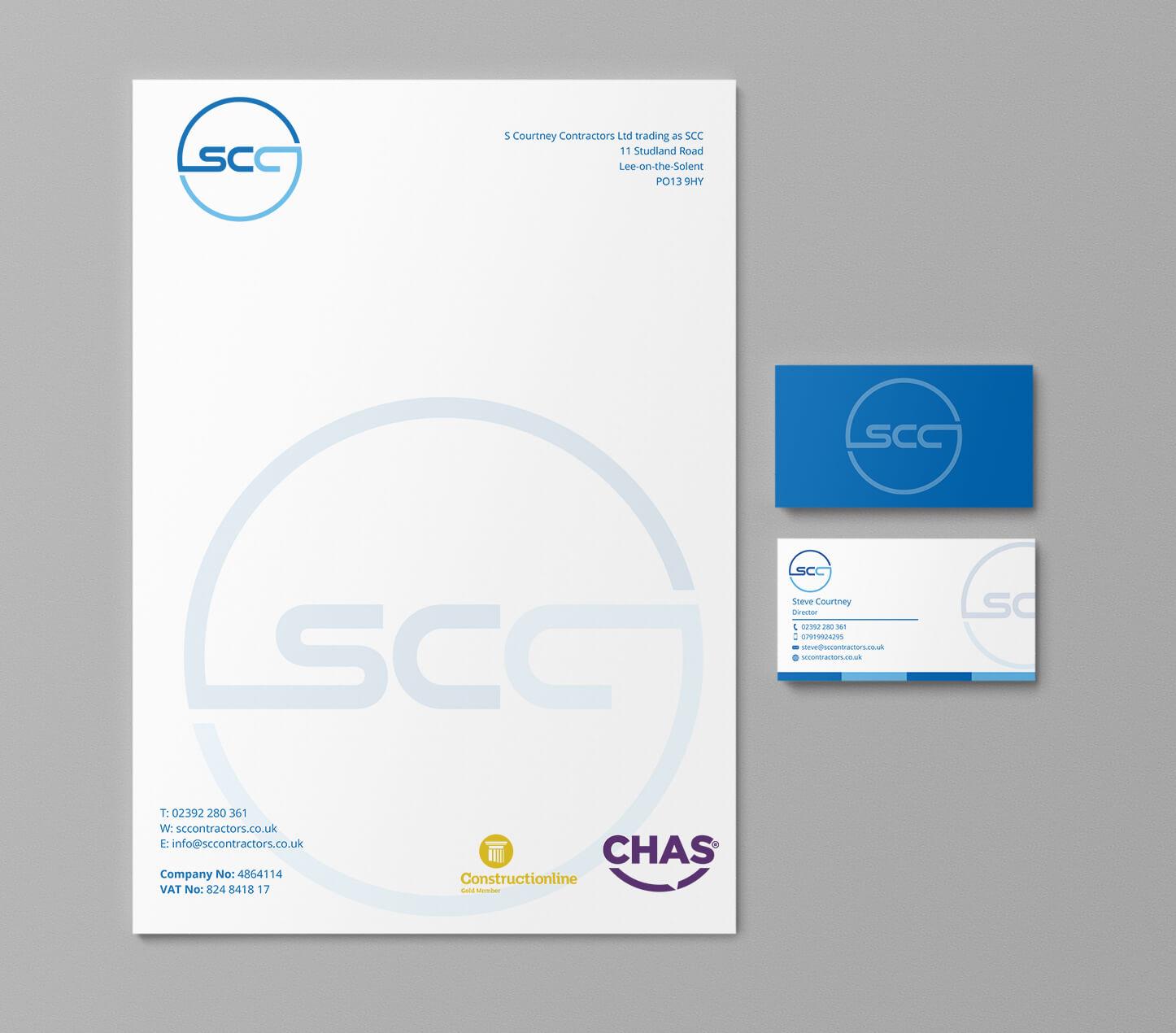 SCC corporate identity design