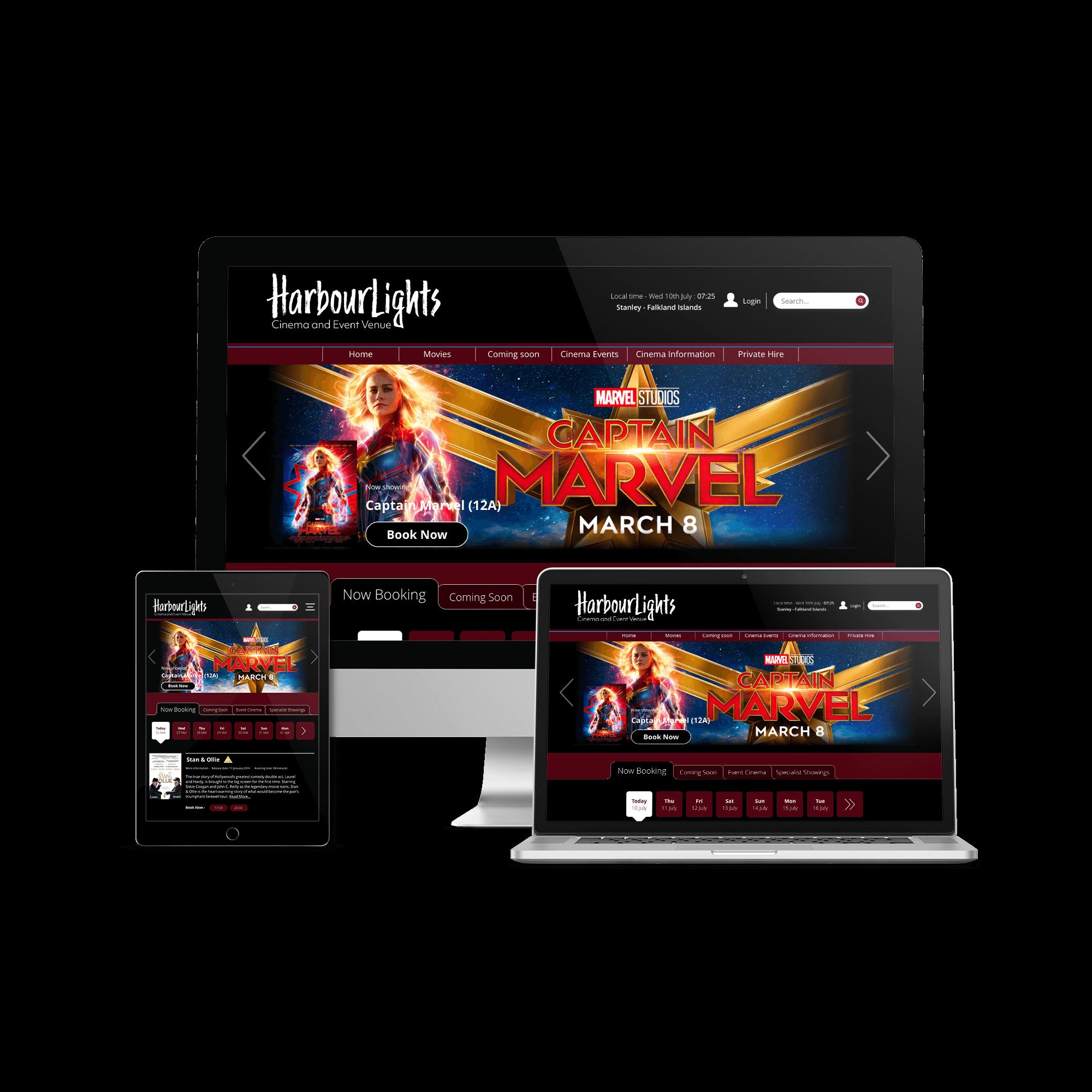 HarbourLights Website Design