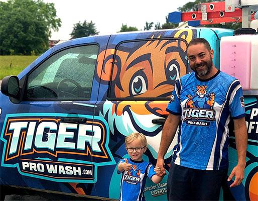 Kenny, owner of Tiger Pro Wash