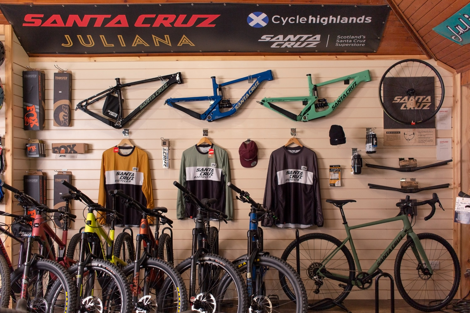 Transforming Cyclehighlands from local shop to e-commerce national leader.