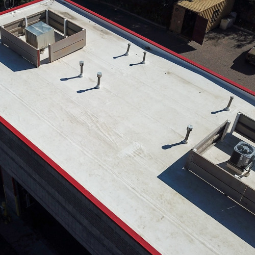 Flat-Slope Roofing System