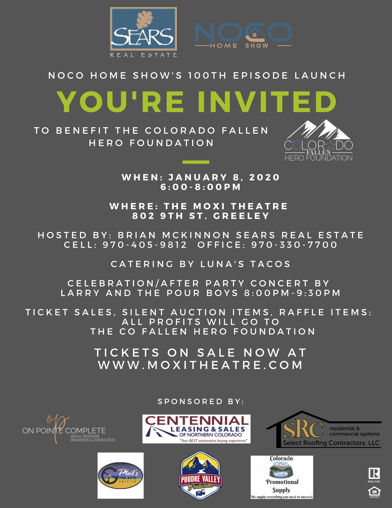 Benefit for Colorado's First Responders