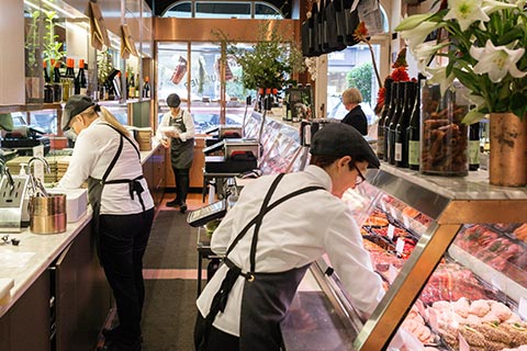 Butchers working in Toorak