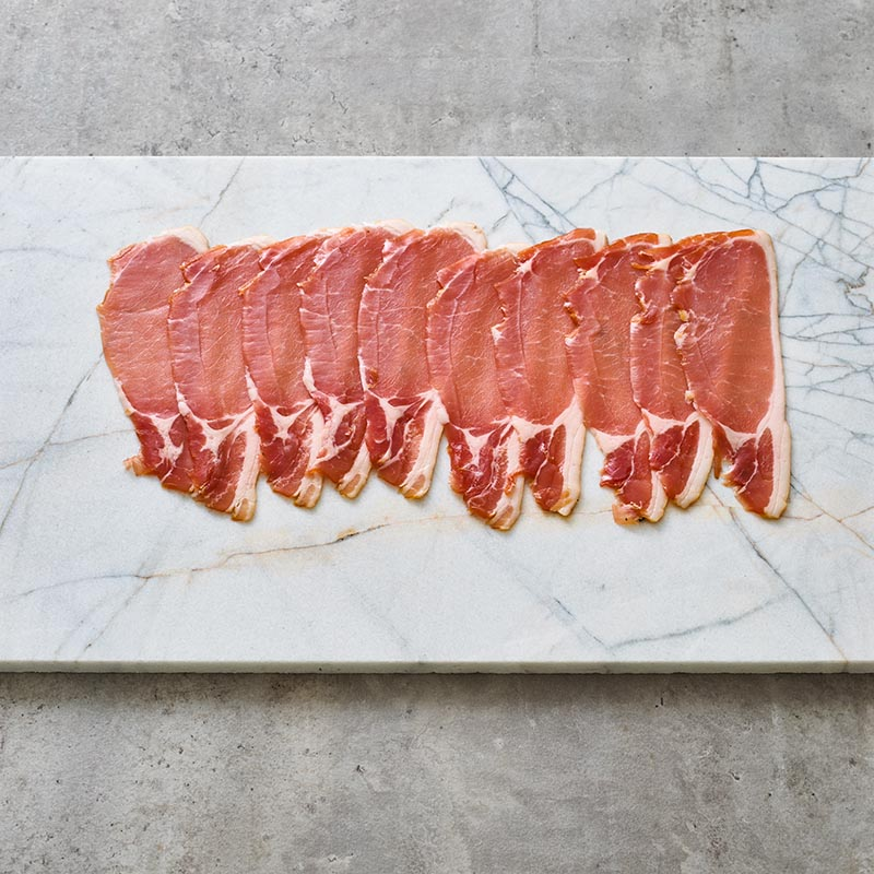 Dry Cured Middle Bacon