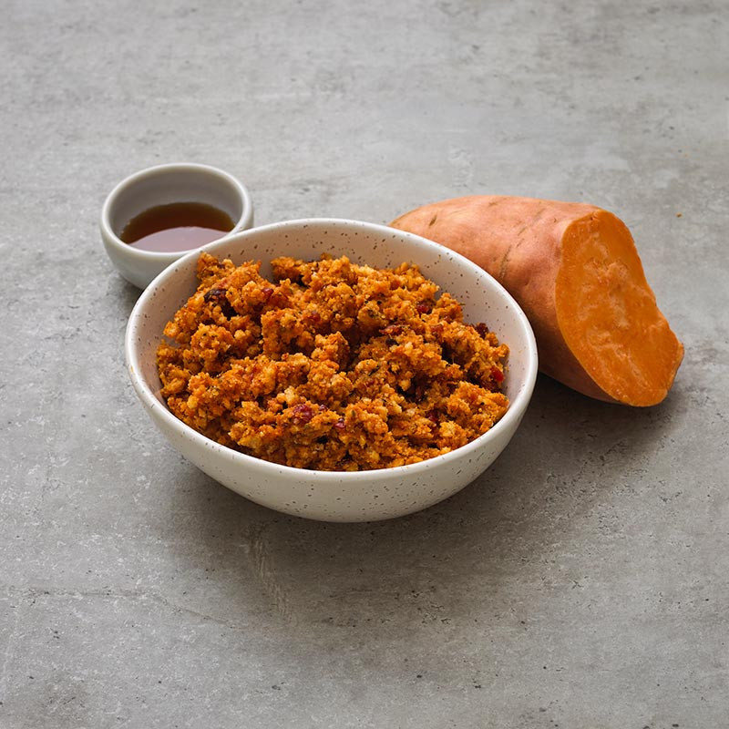 Sweet Potato and Maple Stuffing (GF)