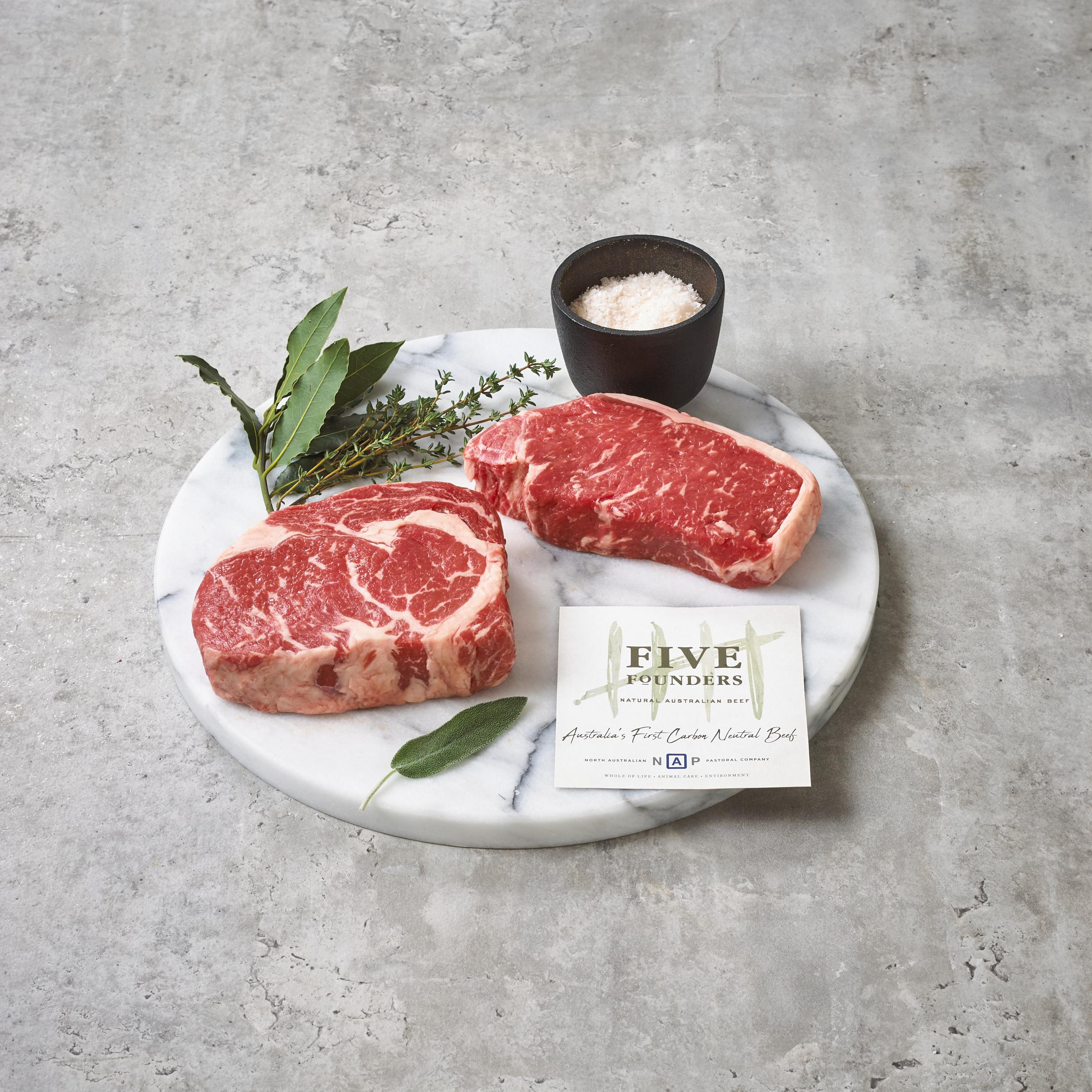 Five Founders Carbon Neutral Beef