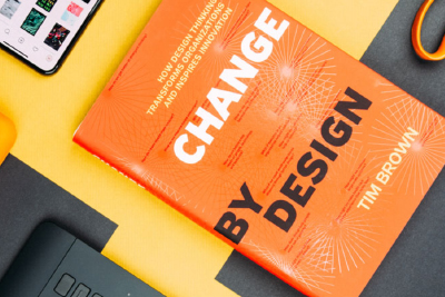 """the book """"Change by design"""" written by Tim Brown"""