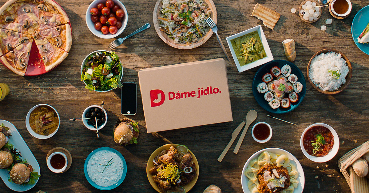 Damejidlo's customer success story about sales promotions