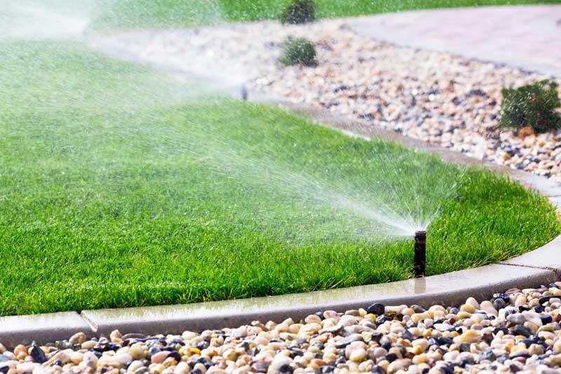 Lawn sprinkler system installation in Westchester County