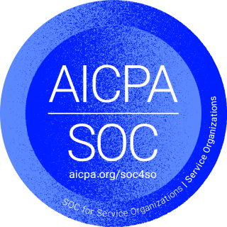 SOC2 compliance badge