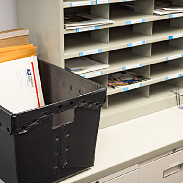 General Office Areas and Mailrooms
