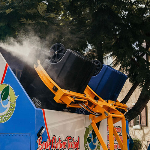 self contained trash cleaning san diego