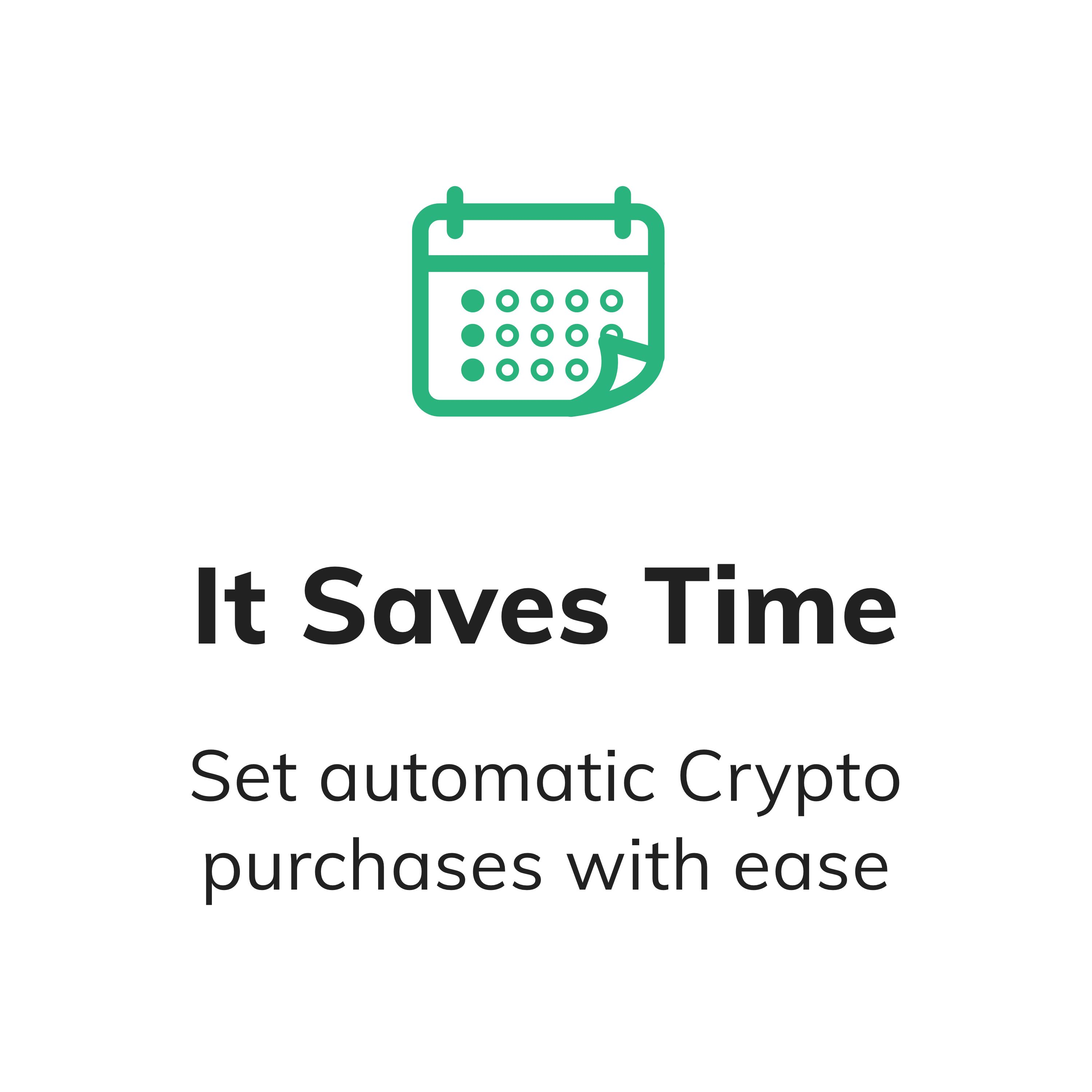 Set schedule to Buy Bitcoin