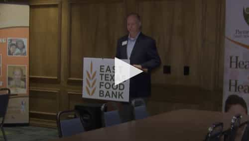 ETX Food Bank partnership