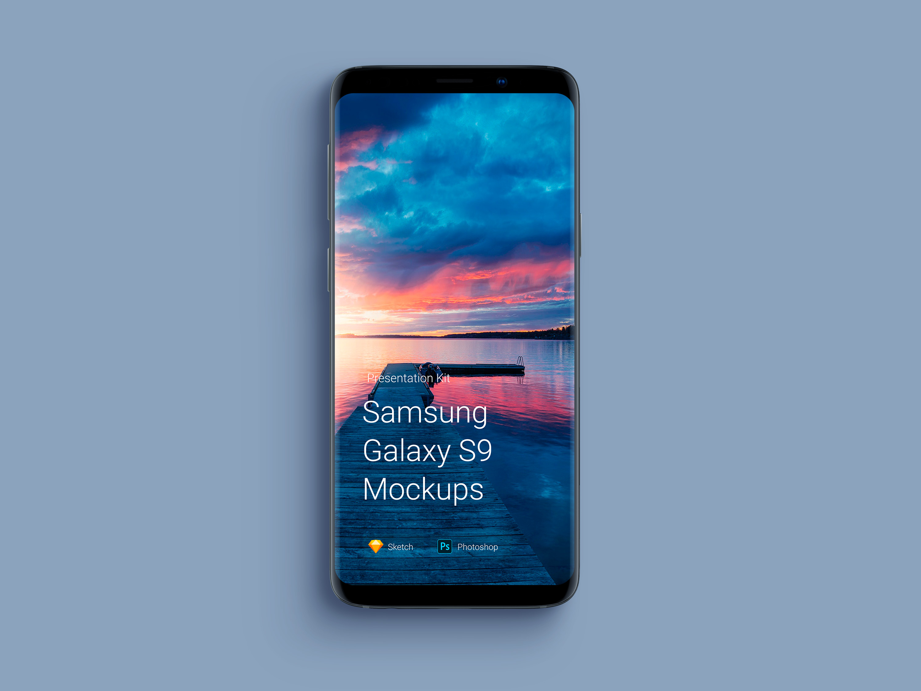 Download Samsung Galaxy S9 Mockup for Sketch and Photoshop