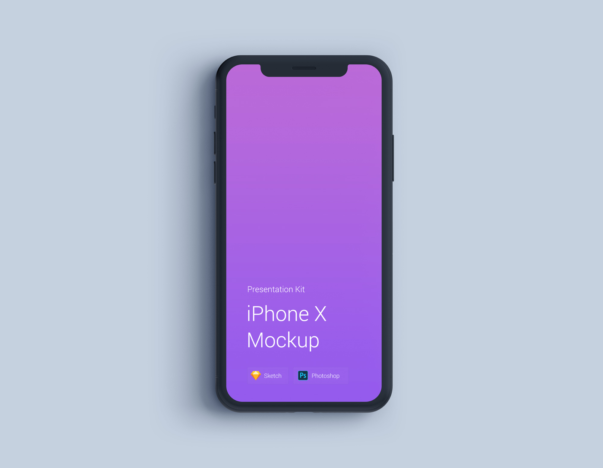 Download iPhone X Mockup for Sketch and Photoshop