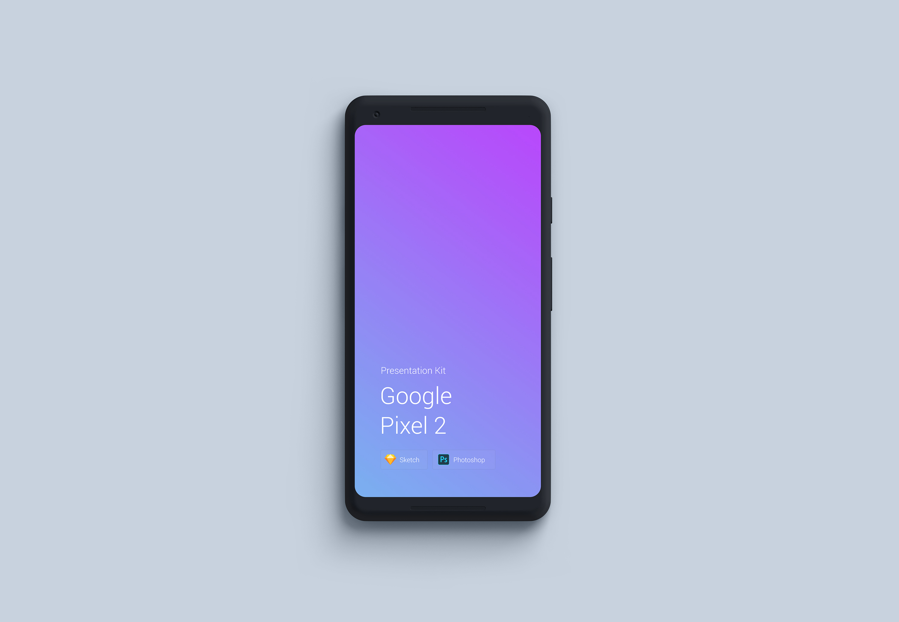 Download Google Pixel 2 Mockup for Sketch and Photoshop