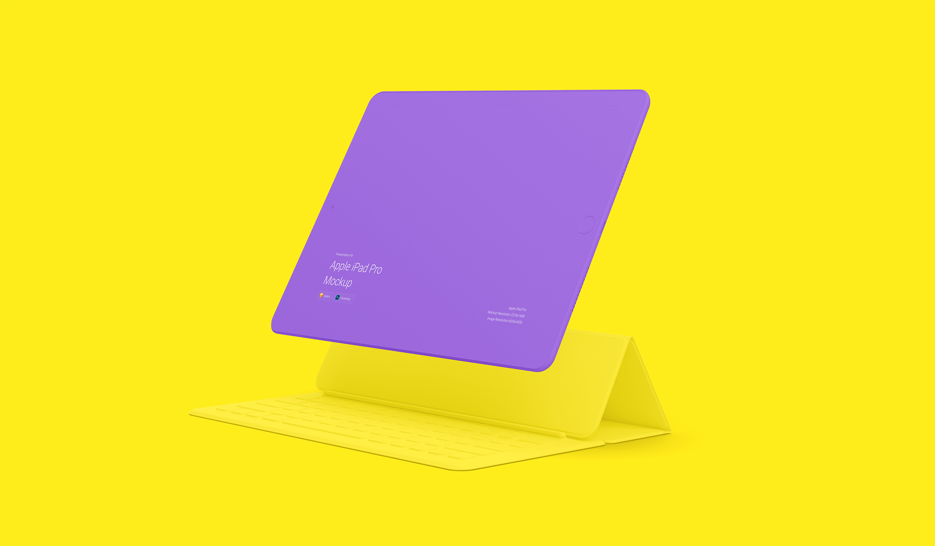 Download Apple iPad Pro Mockup for Sketch and Photoshop