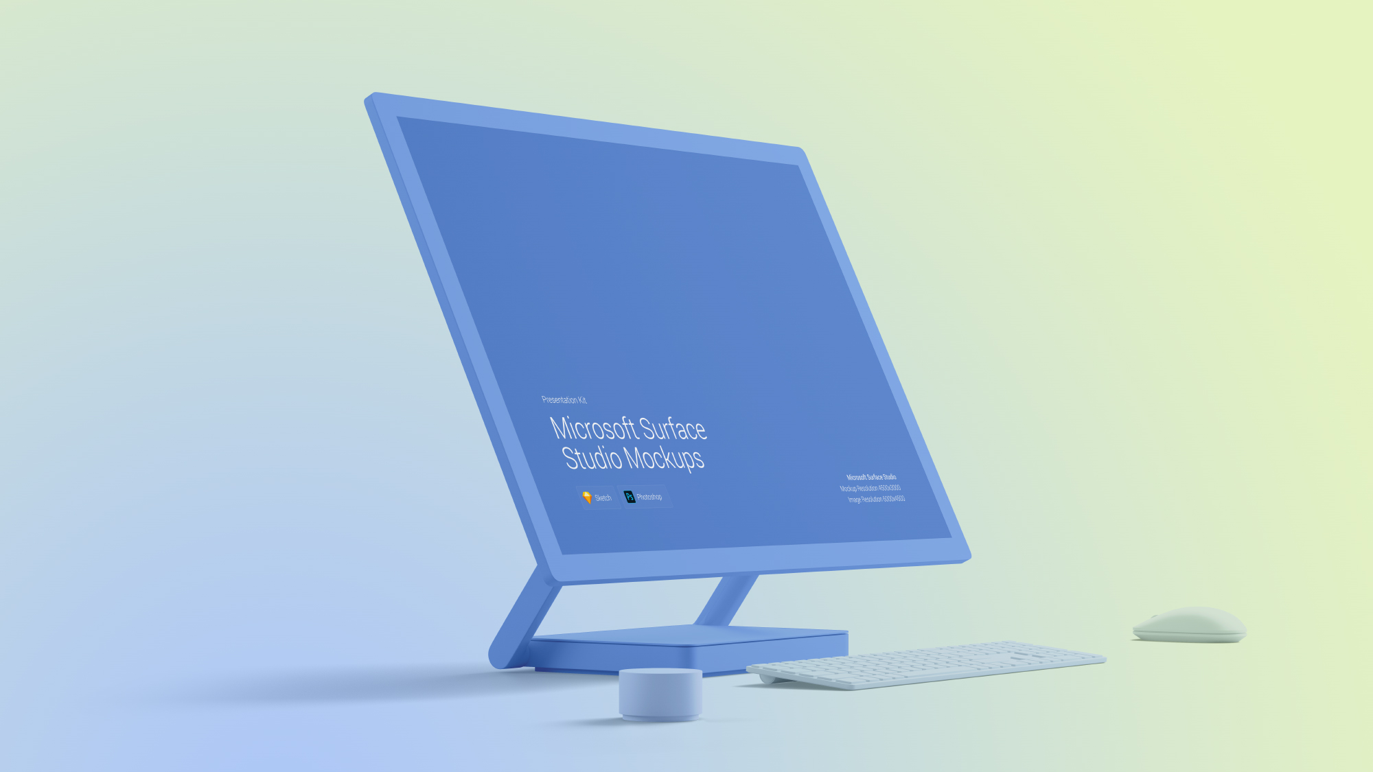 Download Surface Studio Mockups for Sketch and Photoshop