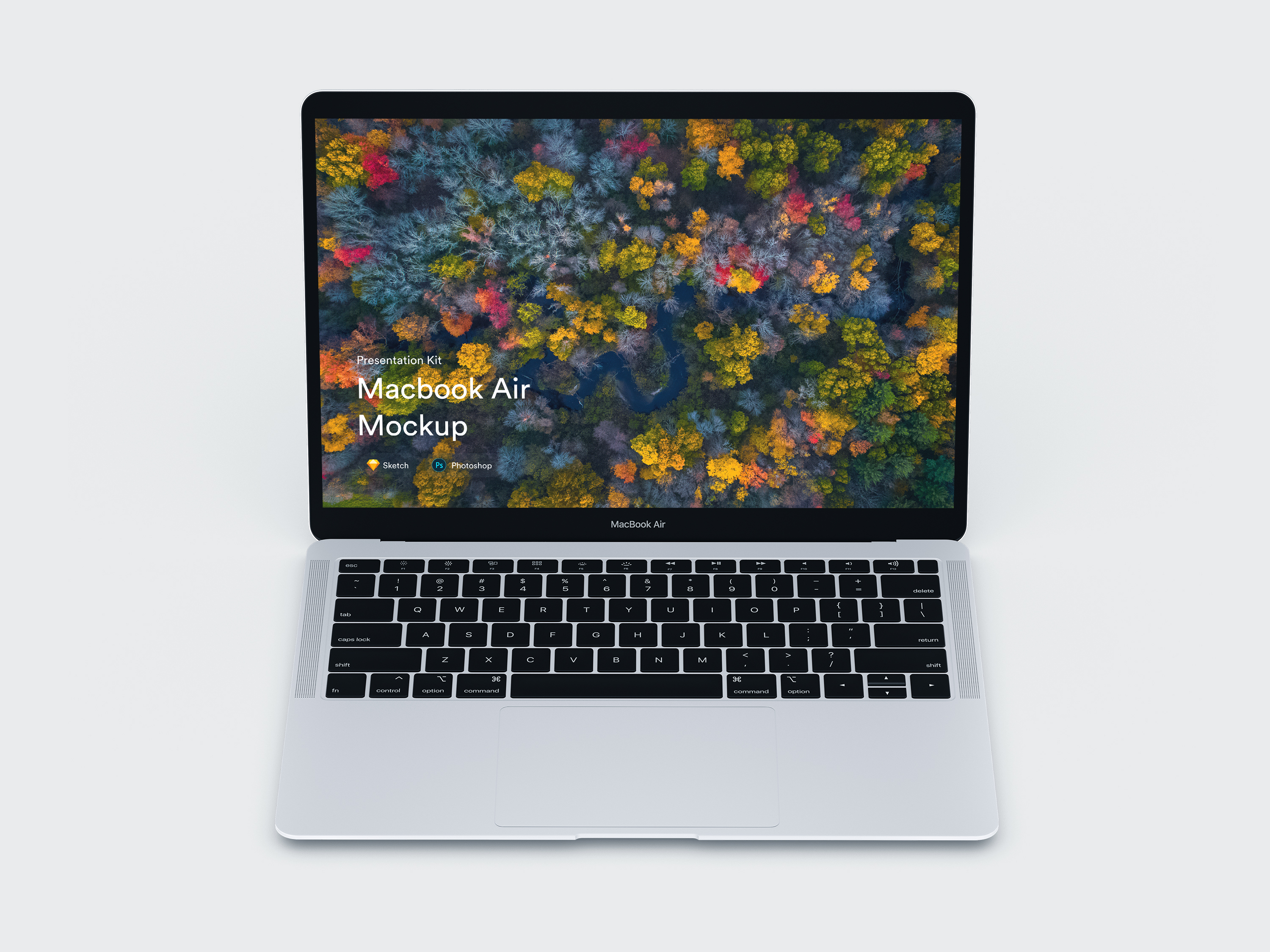Download MacBook Air Mockups for Sketch and Photoshop