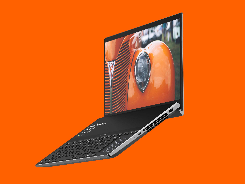 Asus ZenBook Pro Duo Mockups