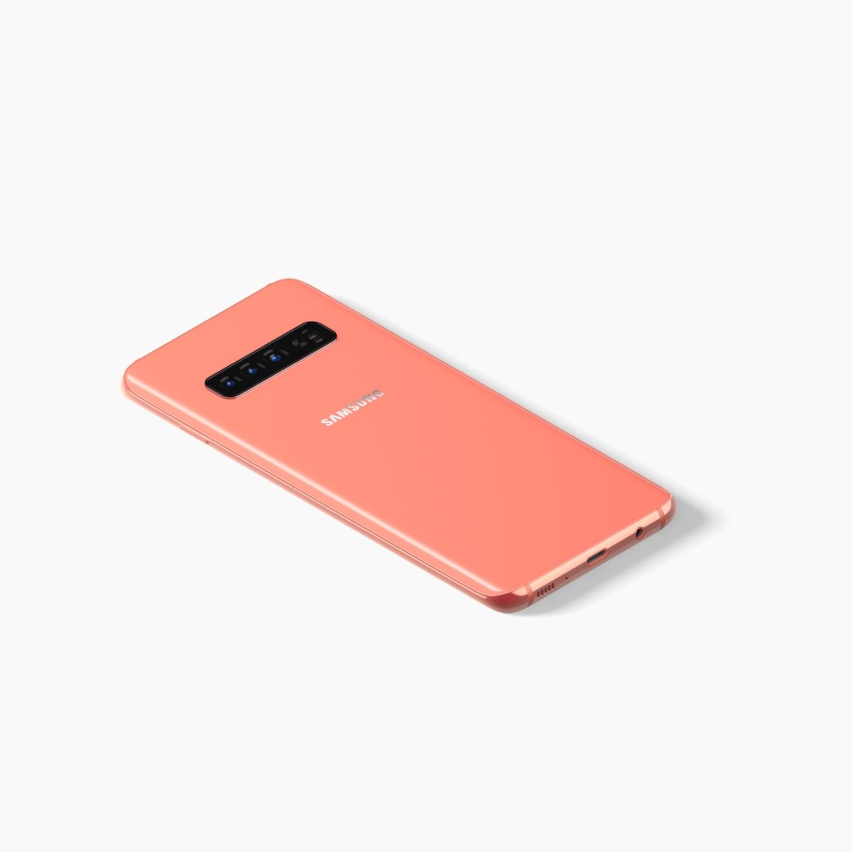 Samsung Galaxy S10 Mockup