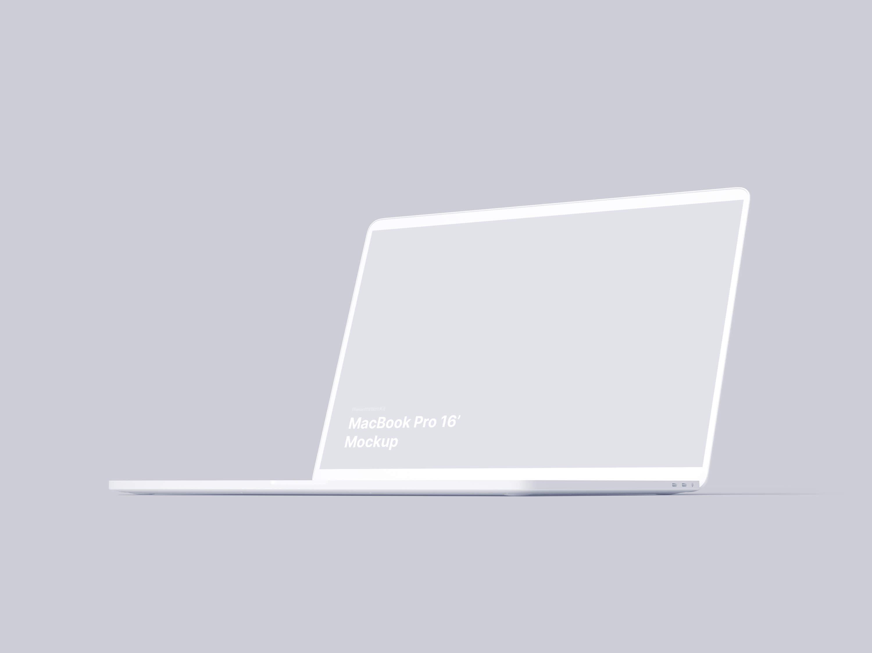 MacBook Pro 16'' Mockups