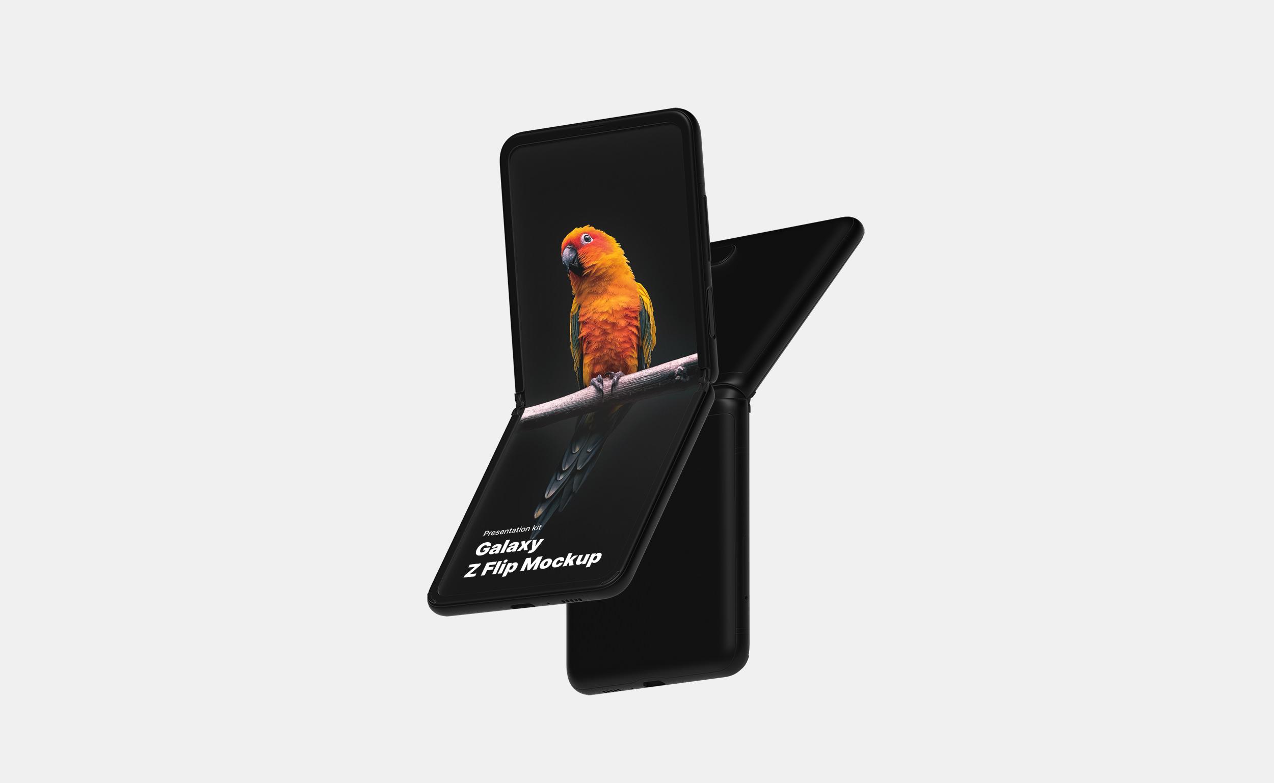 Samsung Galaxy Z Flip Mockups