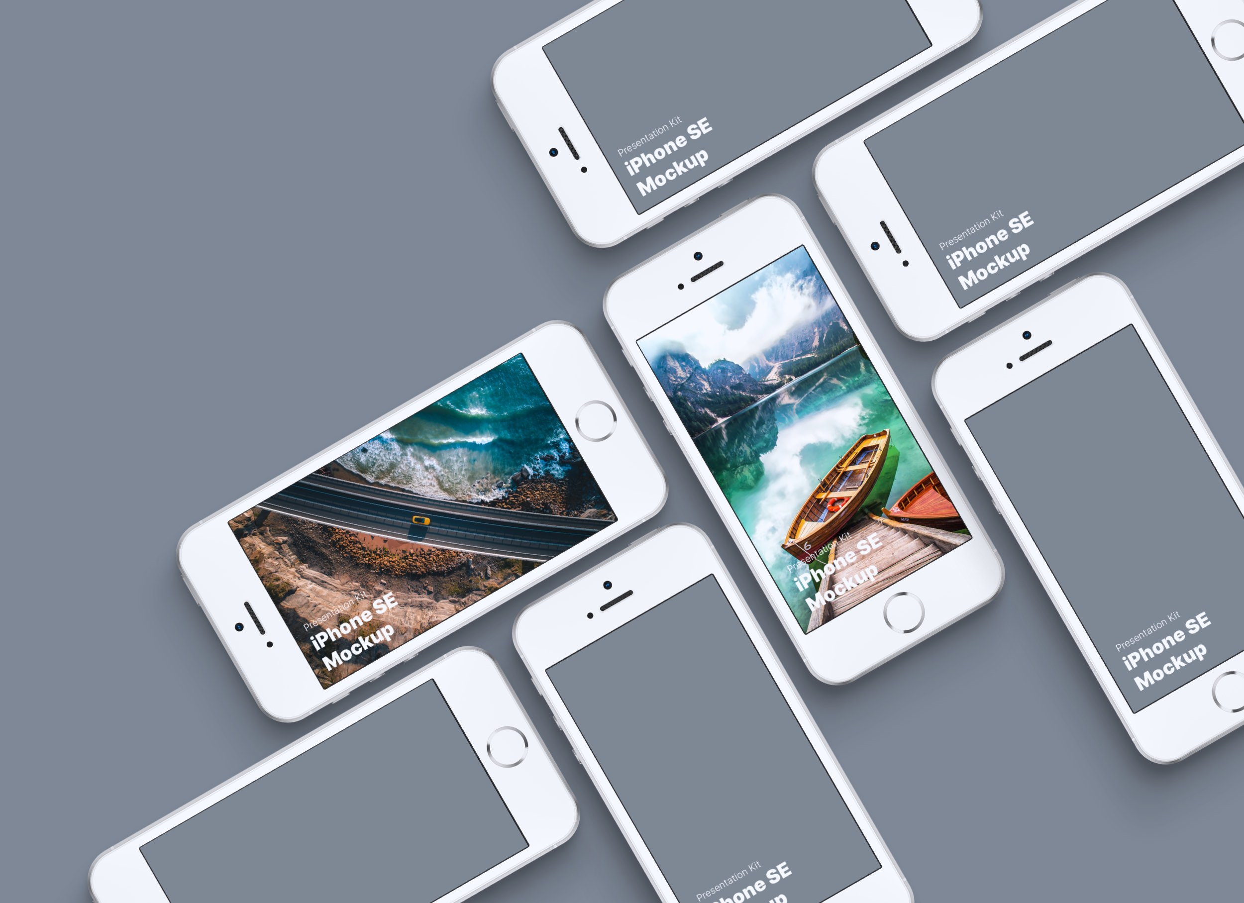 Download Apple iPhone SE Mockup for Sketch, Photoshop and Figma