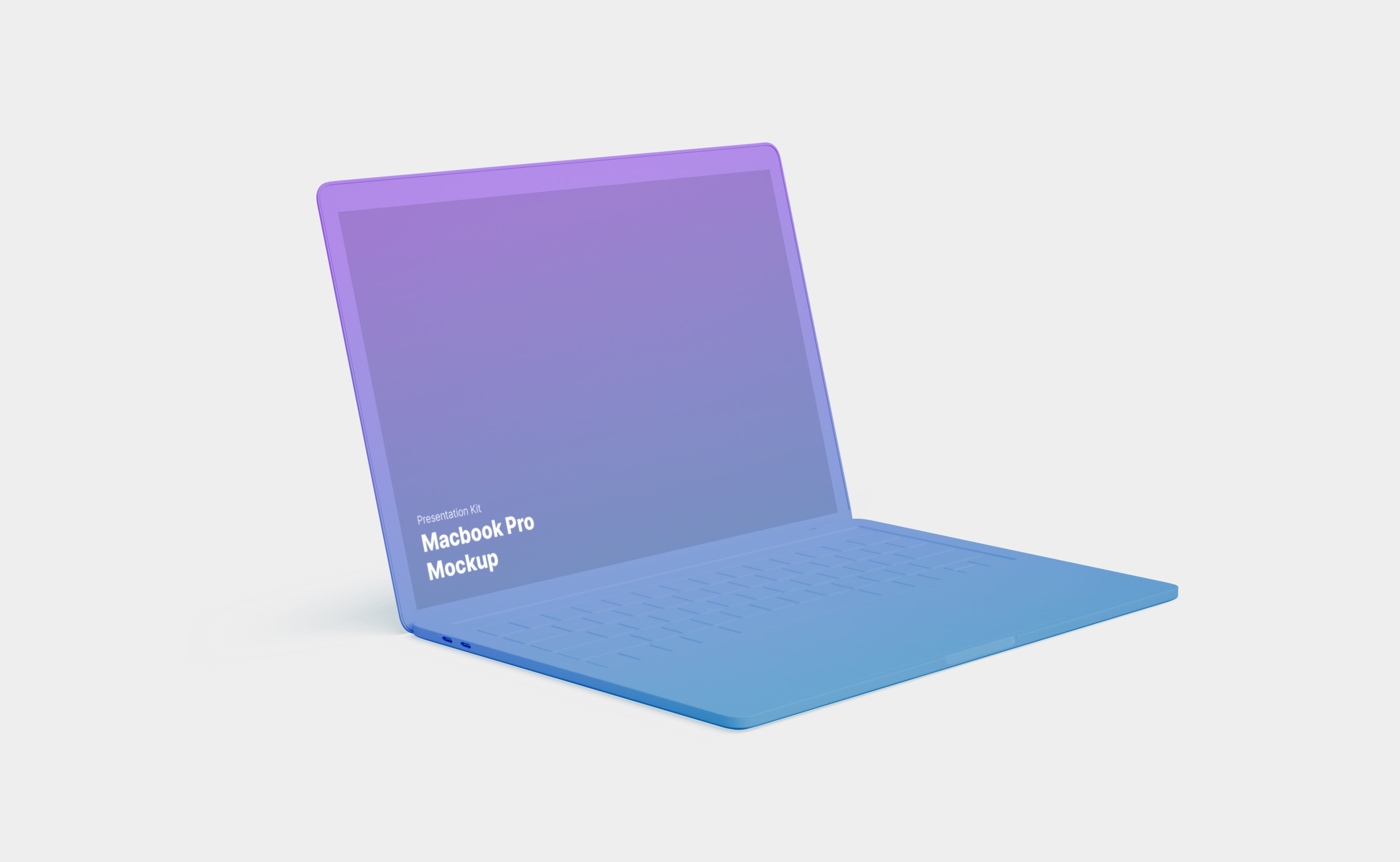 Macbook and Macbook Pro Mockups for Sketch, Photoshop and Figma
