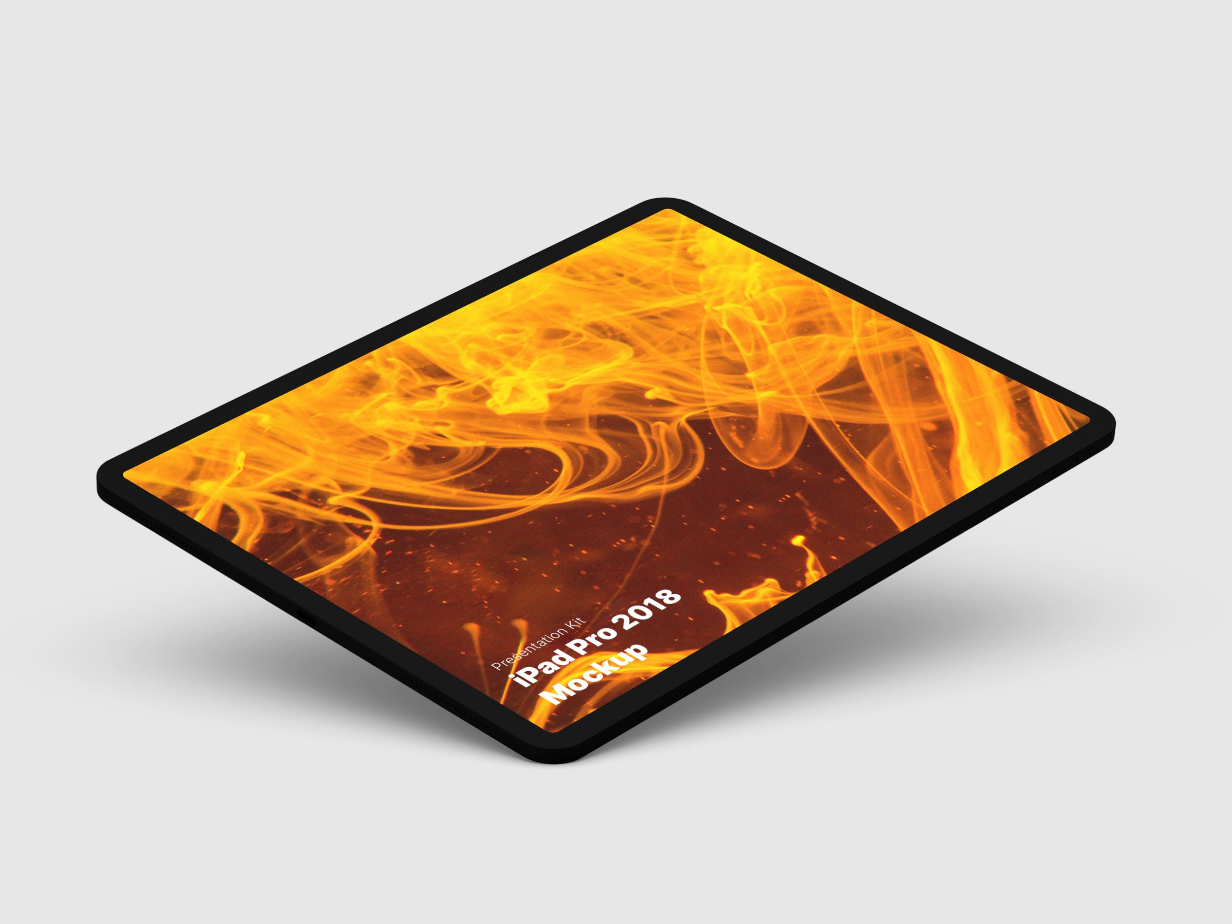 iPad 2018 Pro Mockups for Sketch, Photoshop, Figma