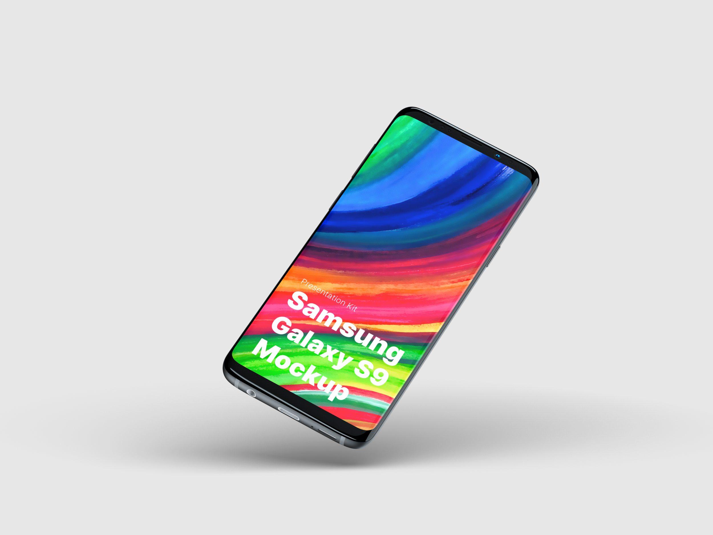 Samsung Galaxy S9 Mockup for Sketch, Photoshop, Figma