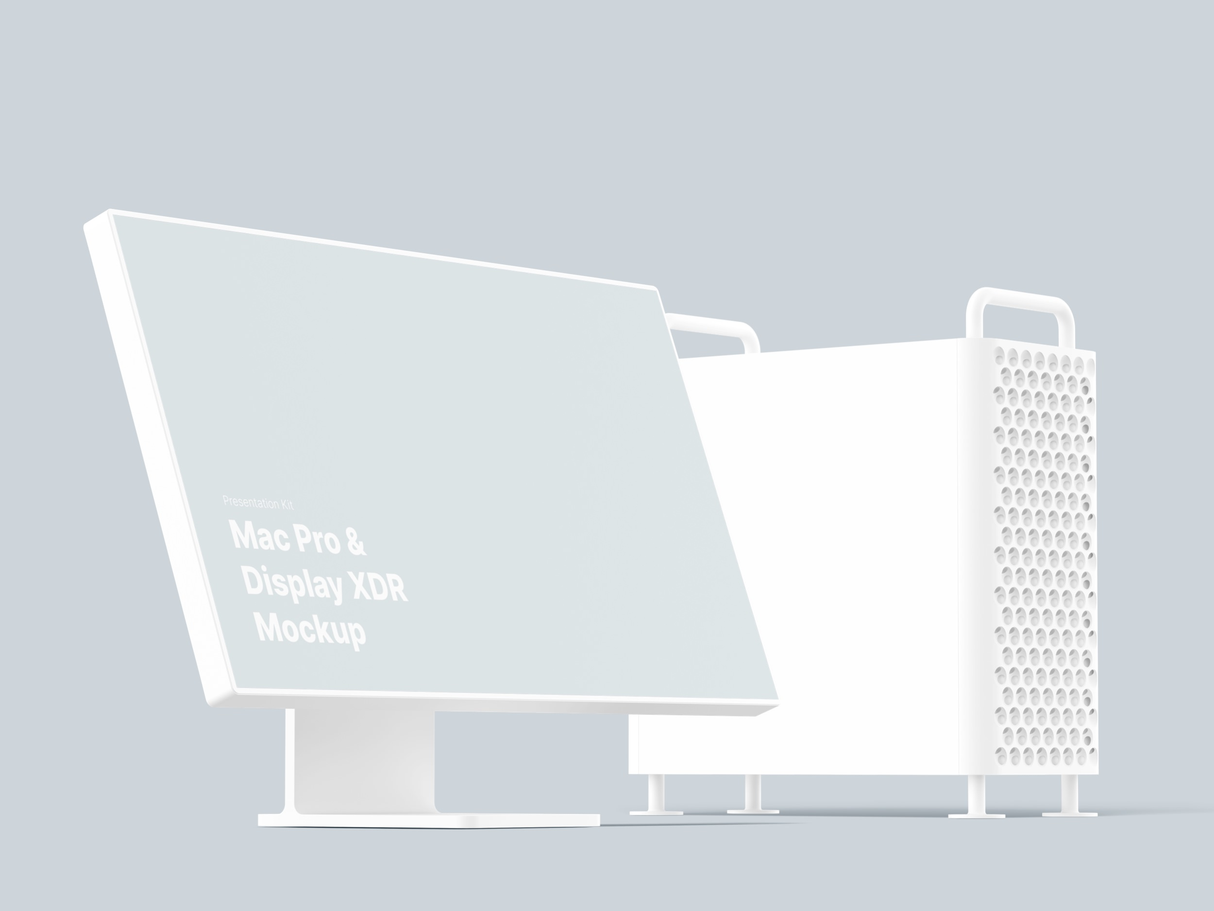 Mac Pro Mockups  for Sketch, Photoshop, Figma.