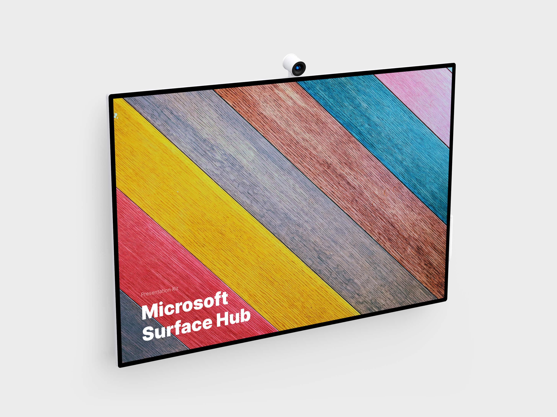 Microsoft Surface Hub Mockups